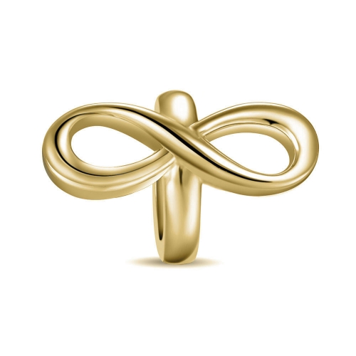 Limitless Charm gold-plated
