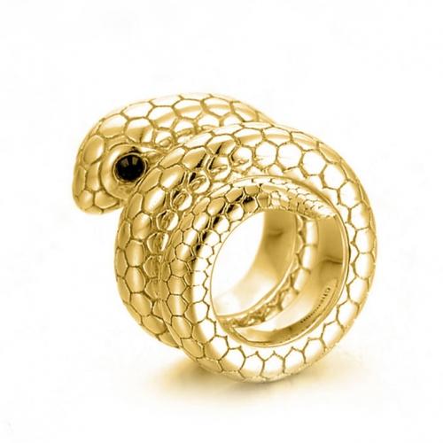 Snake Charm vergoldet