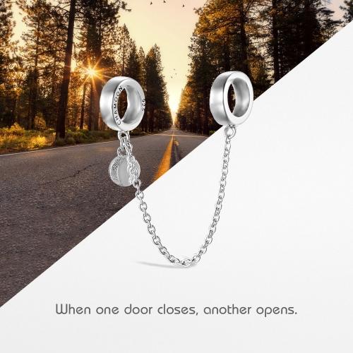 Chamoon Chain Charm-Anhänger Silber