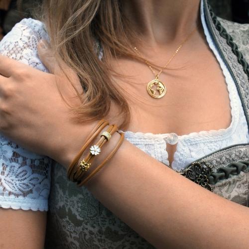 Bracelet Marigold Brown TRIO Double