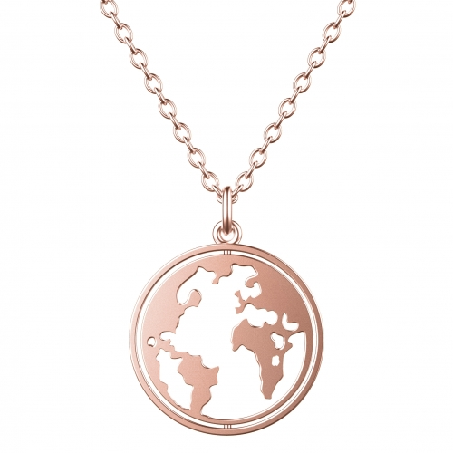 World Necklace Rose