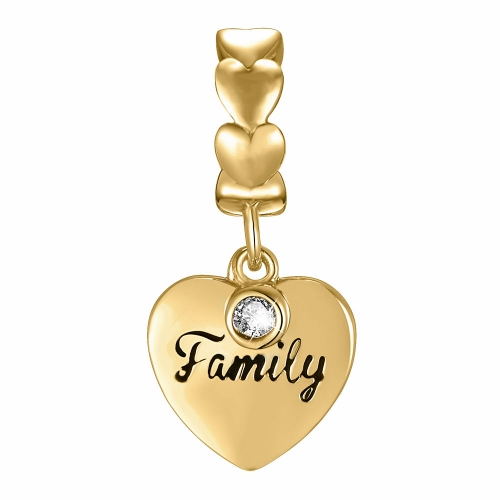 Family Charm Gold
