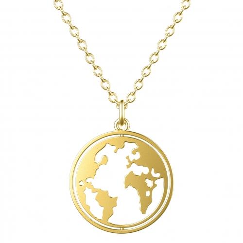 "Welt Kette Gold ""Rotating World"""