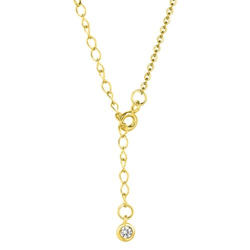 Mond Halskette Gold Verlängerungskette