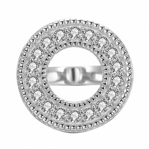 Circle of Diamonds Charm