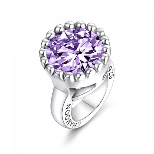 Ultra Violet Crystal Charm