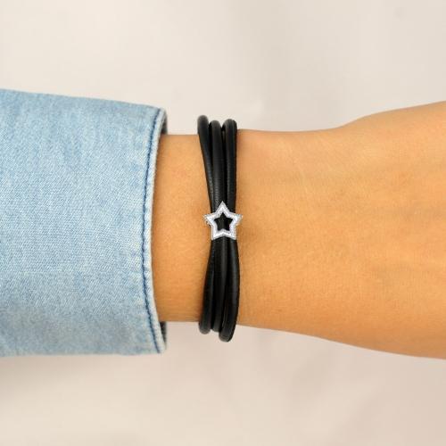 Star Charm Silber