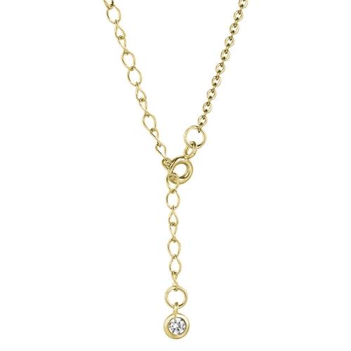 Mond Kette Gold Halskette und Verschluss