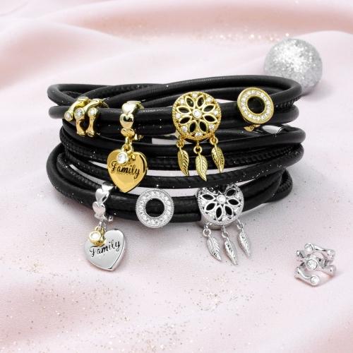 Armband mit Traumfänger Charm