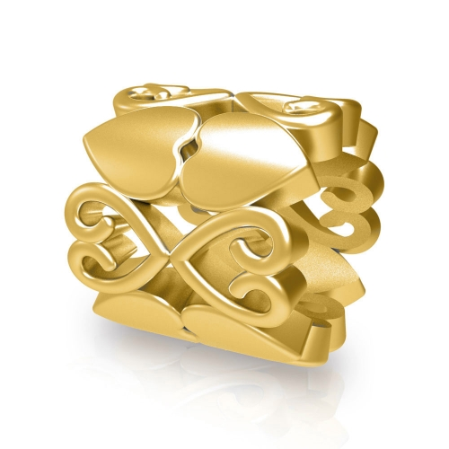 Sweet Love Charm gold-plated