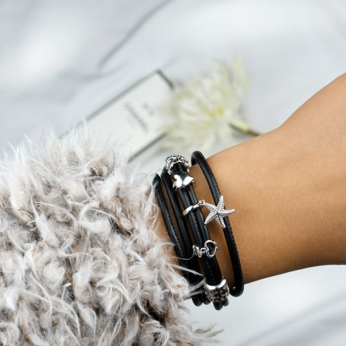 Bracelet Black TRIO Double