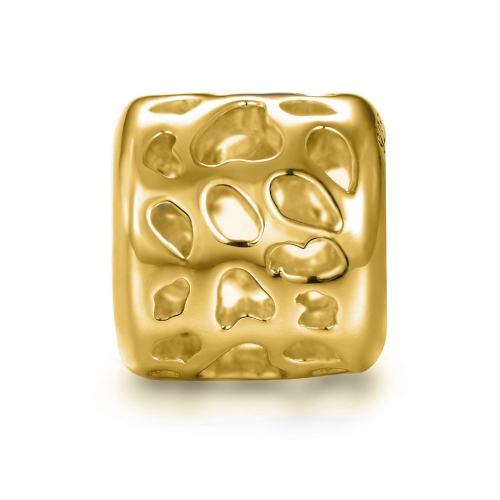 Leopard Charm gold-plated