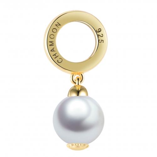 Perlen Charm Gold