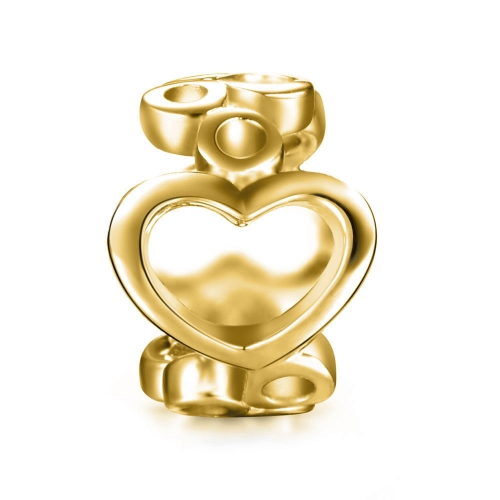 Bubbles Charm gold-plated
