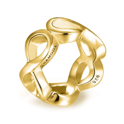 Eternity Charm gold-plated